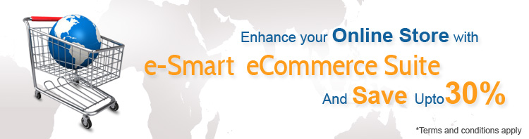 Save 30% on e-Smart eCommerce Suite