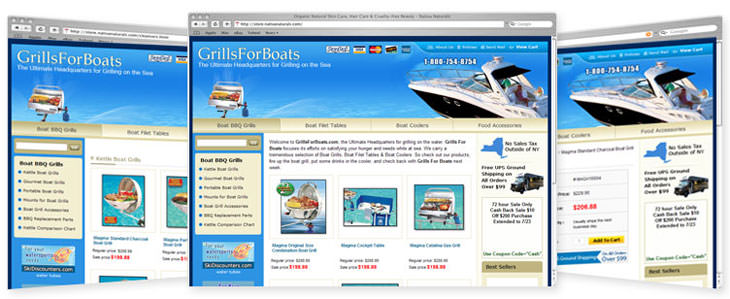 Grill for Boats
