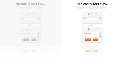 Mr.Vac and Mrs.Sew POS