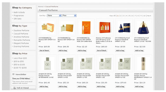 Customized Filters at Navigation Level or on Product Listing Page